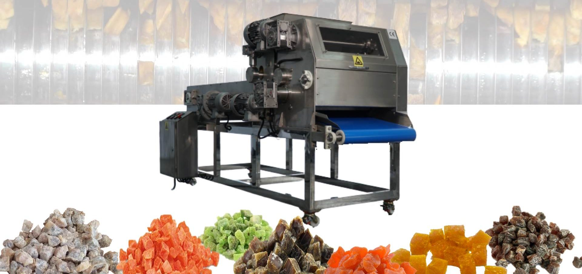 DRIED FRUIT AND VEGETABLE DICERS